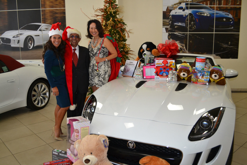 rusnak revs up holiday giving with a toy drive rusnak events
