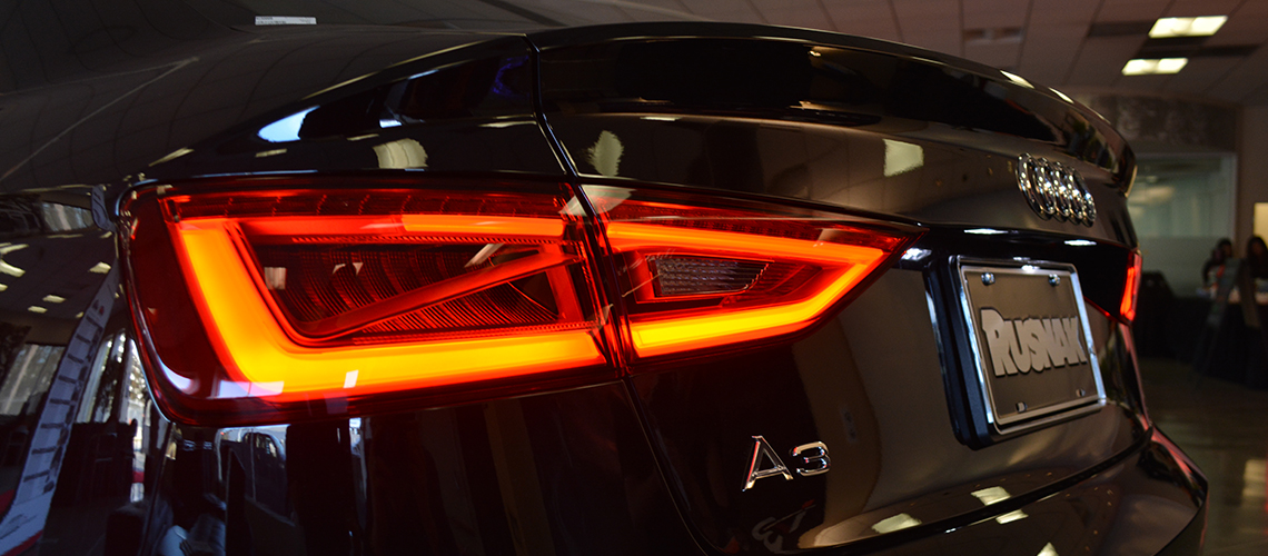 Audi 2015 a3 launch party rusnak events for Rusnak mercedes benz pasadena