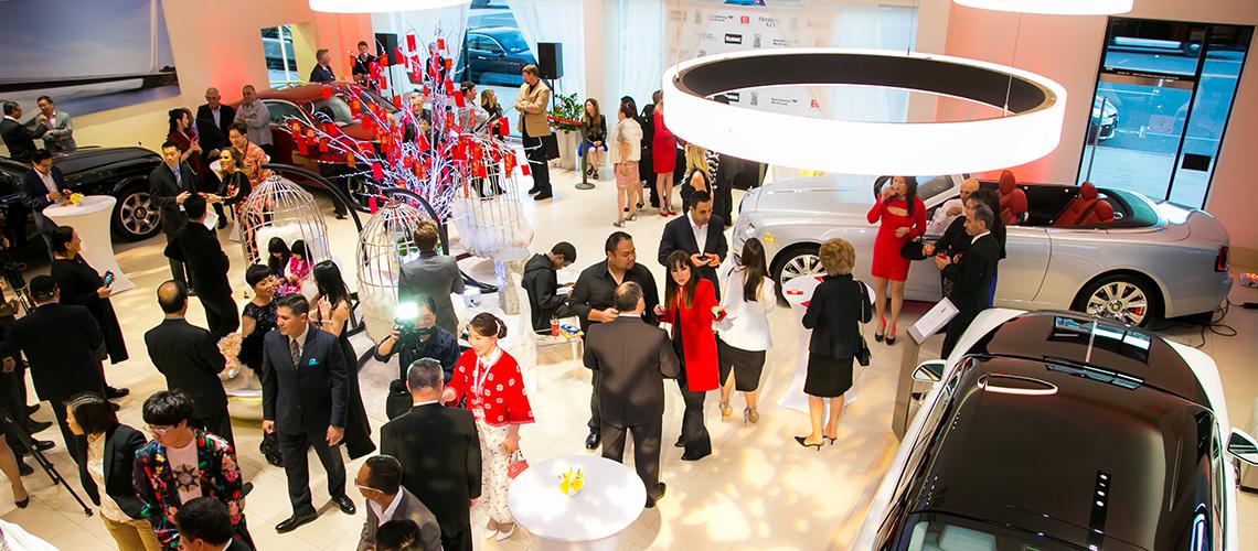 Rolls Royce Motor Cars Pasadena Chinese New Year Year Of