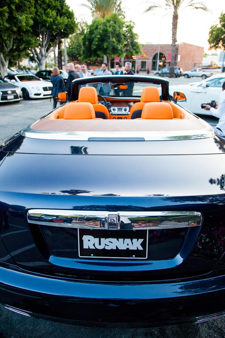 Mr David Lee Rolls Royce Dawn Reveal Rusnak Events