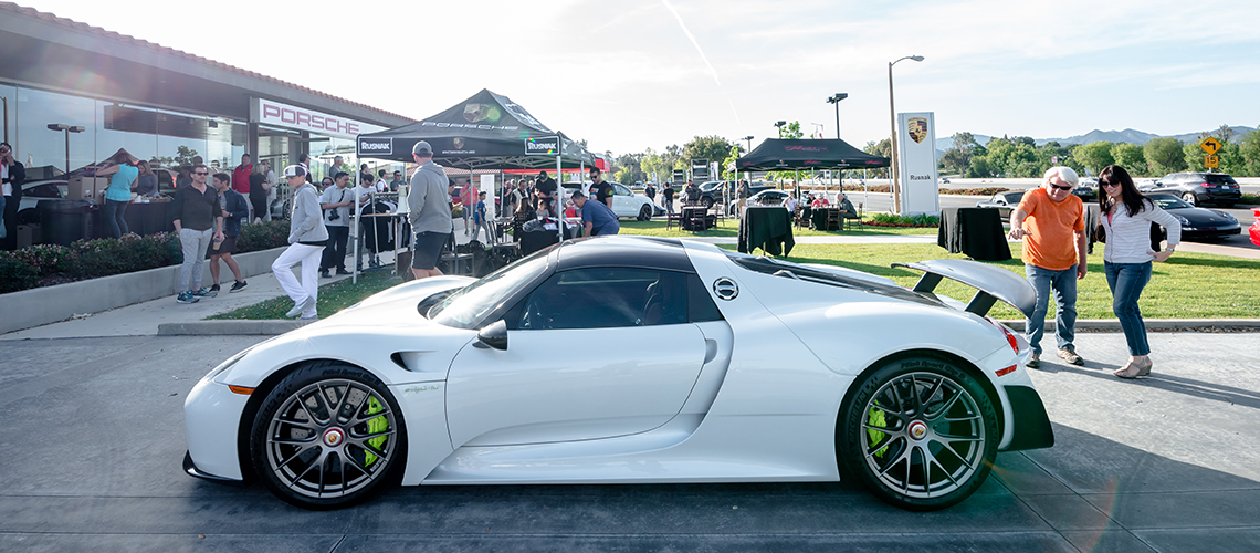 Porsche Westlake Hosts No Substitute Saturdays Rusnak Events