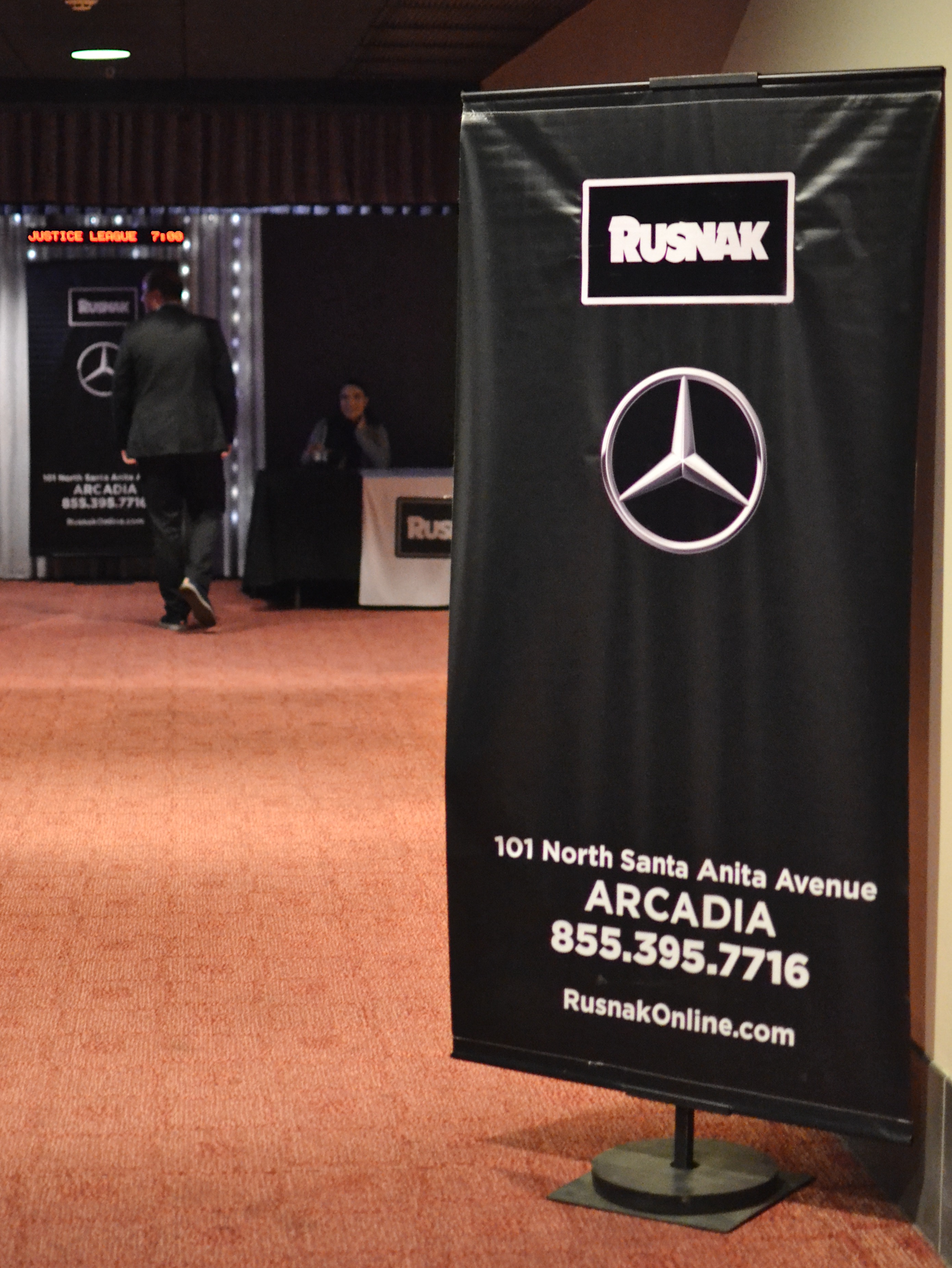 Mercedes benz of arcadia host a screening of justice for Rusnak mercedes benz arcadia