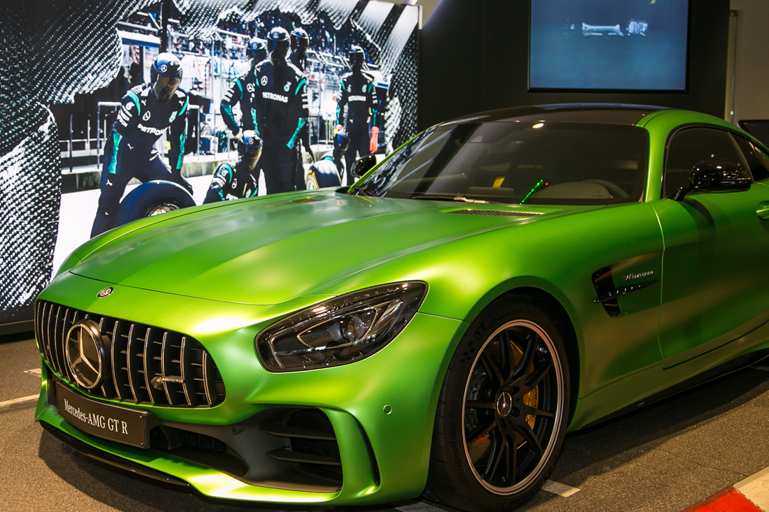 Amg Gtr Launch Event At Mercedes Benz Of Arcadia Rusnak