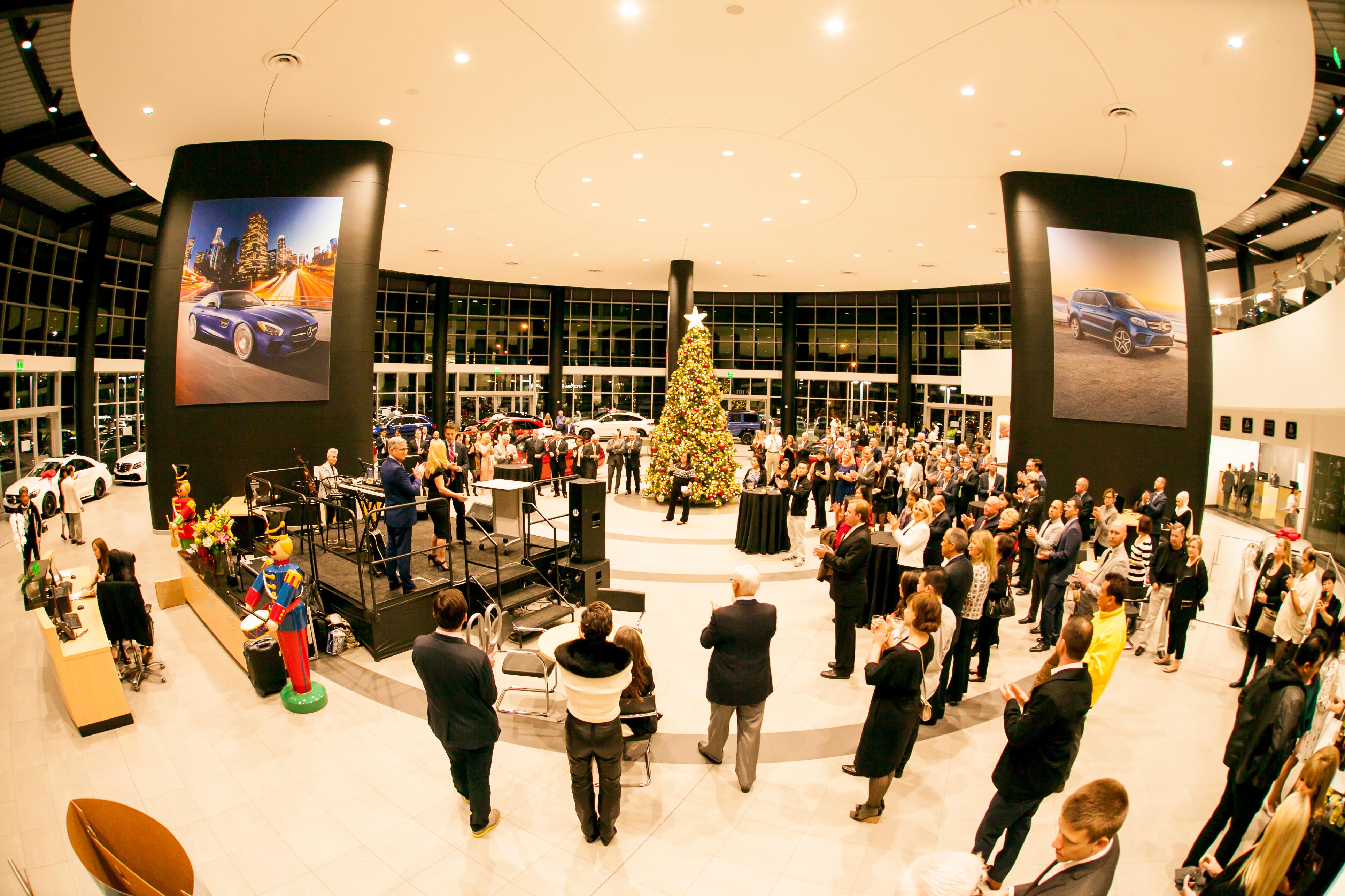 Jaguar Anaheim Hills >> Mercedes-Benz of Arcadia Grand Opening - Rusnak Events